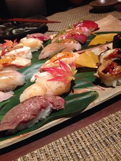 All you need is a great sushi, some love, and more great sushi.