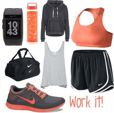 Workout Outfits Ideas: Sexy in Sweat - Nike Junkie