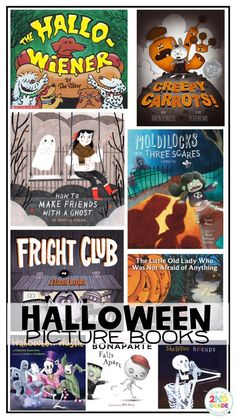 Halloween Picture Books, Read Alouds for Halloween, Halloween Books to read at home or in the classroom