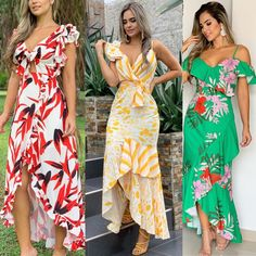 Elegant Dresses, Pretty Dresses, Beautiful Dresses, Indian Designer Suits, Tropical Dress, Casual Dress Outfits, Gowns Of Elegance, Striped Maxi Dresses, Diy Dress