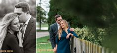 Leah and Gerry's engagement session in Fort Wayne! These two were so much fun to work with - Dustin and Corynn, Engagement and Wedding Photographers