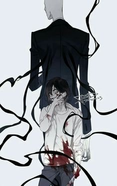 Jeff the Killer, Slenderman; Creepypasta