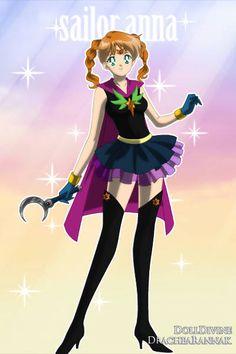 sailor anna ~ by posinive7654 ~ created using the Sailor Senshi doll maker | DollDivine.com