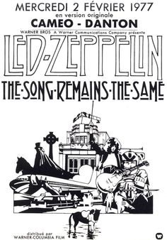 led zeppelin poster by SYNDICATE69 on Etsy