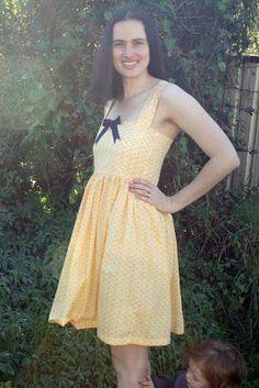 Amelie and Atticus: Summer Sundress Tutorial