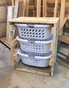 Laundry Basket Dresser: Maybe Put Doors On It To Conceal It And Keep It  Organized Part 92