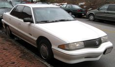 1992 Buick Skylark Very similar to the car I bought. Buick Skylark, S Car, First Car, Classic Cars, Automobile, Ann, Stuff To Buy, Passion, Vehicles
