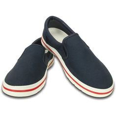 62ca9dd0582291 อย่าช้า CROCS-Crocs Norlin Slip-on M-Navy White-M10