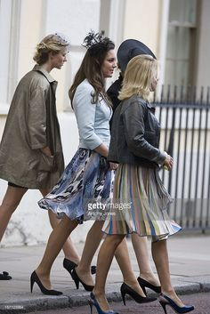 Kate Middleton (Centre) At The Wedding Of Lady Rose Windsor, Youngest Daughter Of