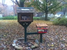 Little Free Library, complete with children's section.