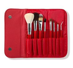 Morphe Brushes 700 8 Piece Candy Apple Red Brush Set is a collection of delicious, vibrant makeup brushes designed to deliver a flawless finish for the Red Makeup, Blush Makeup, Makeup Brush Set, Candy Apple Red, Candy Apples, Red Apple, Best Morphe Brushes, Morphe Eyeshadow, No Foundation Makeup