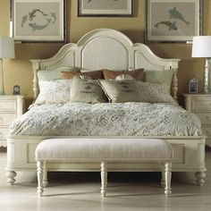 Michael Harrison Collection Summer Home Classic Queen Panel Bed
