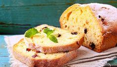Pão caseiro com passas