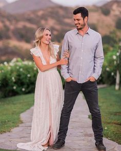 Lauren Bushnell's engagement shoot is the sweetest! We can picture this look (in J1161016) for any event before, during or after your wedding | Valorie Darling Photography via The Knot