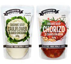 Momo's Meals Packaging Artwork on Behance
