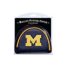New! Michigan Wolverines Putter Cover - Mallet #MichiganWolverines