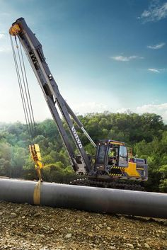 Volvo PL4809E Tier 4 Final Rotating Pipelayer Pushes Performance to New Limits
