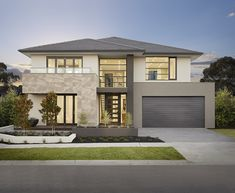 Latest House Designs, New Home Designs, Open Plan Kitchen Dining Living, Large Floor Plans, Large Open Plan Kitchens, Melbourne House, Storey Homes, Display Homes, House Layouts