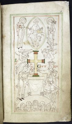 Liber Vitae of New Minster (Winchester), 1031, London, British Library Stowe 944, f. 6