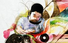Home Decor Music (Hot singer) poster with Nujabes Graphics Plates Picture Headphones Wall Scroll Poster Fabric Painting 24 X 36 Inch X 90 cm) Addiction Help, Music Wallpaper, Word Of Mouth, Drug Free, Amazon Art, Fabric Painting, Famous Artists, How To Run Longer, Album Covers