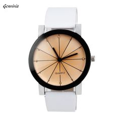 Cheap leather band watch, Buy Quality watch steel directly from China leather bracelets for watches Suppliers: New Watches Women Fashion Men Quartz Dial Clock PU Leather Wrist Watch Round Case New Design relogio feminino Retro masculino Bracelet Watch, Bangle Bracelets, Amethyst Pendant, Luxury Watches, Elegant, Watches For Men, Wrist Watches, Women's Watches, Sport Watches