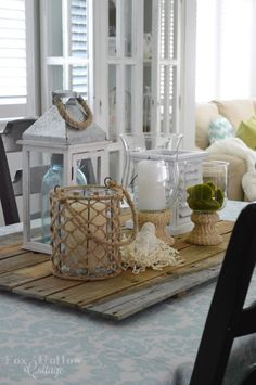 Affordable Home Decorating | Ideas for Springtime & Everyday | Simple Cottage Style at foxhollowcottage.com