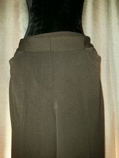 Details about Nicole Miller New York Easy Care Women's Brown Capri ...