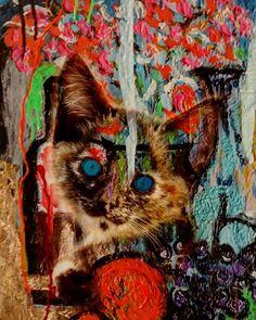 OneUpArt frutto della collaborazione con @davide.costantini.oneupart #art #arte #instagram #nature #natura #liguria #Italia #italy #paintings #popart #digitalart #sketch #photo #artist #photography #artoftheday #artistic #artsy #cats  #painting #animals#instaartist  #creative  #sketching #dibujo #instadraw #artwork #quadro #picoftheday #wallartmagazine