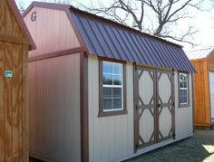 grandview buildings 10x16 side lofted barn t111 siding we custom build minnesota - Garden Sheds Mn