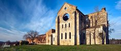 Abbazia di San Galgano, Toscana