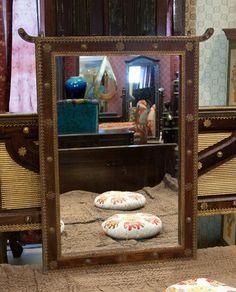 Зеркало «Очарование Востока». Массив, резьба, бол интерьеры махараджей