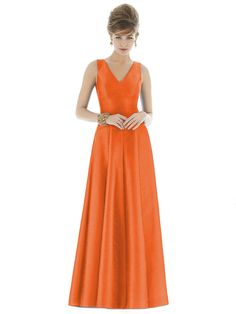 """""""Related to"""" Vera's blue dress - Alfred Sung Style D663 http://www.dessy.com/dresses/bridesmaid/d663/"""