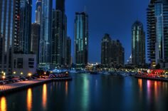 Lucy in the sky with diamonds - Dubai Marina
