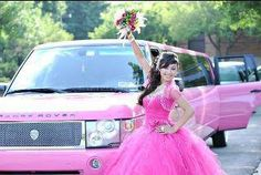 Every Quince Day Needs a Show stopper for the grand entrance. Exotic Limousine in Chicago http://exoticcoachchicago.com