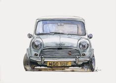 52 ideas classic cars art mini coopers Source by apinpasd Mini Cooper S, Mini Cooper Classic, Classic Mini, Classic Cars, Minis, Super Movie, Movie Gift, Car Illustration, Car Posters