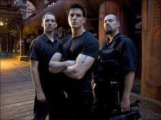 Zak Bagans-Ghost Adventures. Don't judge. :-)