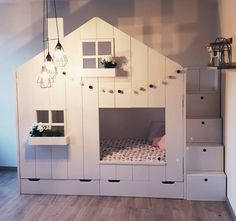 Speelhuis bed Yasmin The post Speelhuis bed Yasmin appeared first on Slaapkamer ideeën. Home Bedroom, Girls Bedroom, Co Housing, New Beds, Big Girl Rooms, Bed Styling, Fashion Room, Dream Rooms, Kids Room