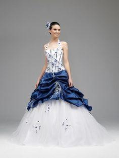 robe de mariée bleu royal - Recherche Google