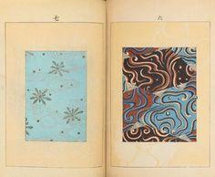Un rivista dei primi del '900 piena di antichi pattern e decorazioni giapponesi via @frizzifrizzi