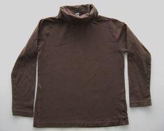 Tee-shirt col roulé sous-pull marron uni Zara Kids 5-6 ans garçons in Vêtements, accessoires, Enfants: vêtements, access., Vêtements garçons (2-16ans) | eBay