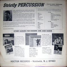 Daniel Barrajanos And His Drummers - Strictly Percussion (Vinyl, LP) at Discogs