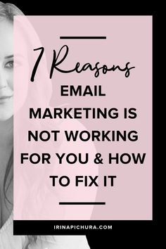 7 Reasons Email Marketing is Not Working for You and How to Fix It - Email Marketing - Start your email marketing Now. - 7 Reasons Email Marketing is Not Working for You and How to Fix It 1 E-mail Marketing, Email Marketing Design, Email Marketing Campaign, Email Marketing Strategy, Email Design, Business Marketing, Content Marketing, Online Marketing, Online Business
