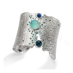 Oceania Cuff by LJD Jewelry Designs