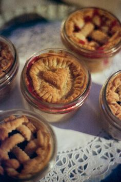 Tiny's Tiny Pies would love to help make your wedding or special event memorable.  We recommend that you schedule a free tasting appointment with us so that we can learn more about the specif…