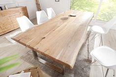 Jedálenské stoly: Luxusný jedálenský stôl z masívu Massive II New