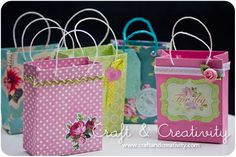 ~ Gift bags