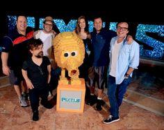 Le casting de Pixels ! Notre critique du film sur Gold'n Blog !