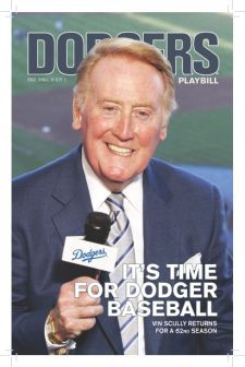 Vin Scully The best broadcaster of all time. l-a-dodgers