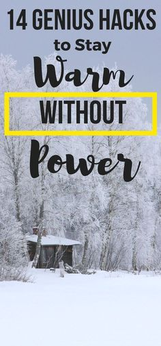 Be prepared for winter weather with these ideas to stay warm without power or electricity. Genius hacks for warm winter outfits, warm fall outfits, how to stay warm camping tips, stay warm at football games, and more.