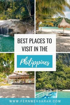 Ultimate Philippines Bucket List – the 7 best places to visit for your paradise vacation in the Philippines. Find out which islands to visit and where to go in Cebu, Boracay, Bohol, Palawan and Coron! Craft your itinerary along the most beautiful places to travel! #philippinestravel #wheretogointhephilippines #philippinesbucketlist #palawan #cebu #bohol #coron #boracay #bestspotsinthephilippes #bestplacestovisitinthephilippines #siquijor #kawasandfalls